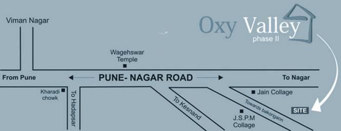 Venkatesh Oxy Valley Phase 1 Location Plan