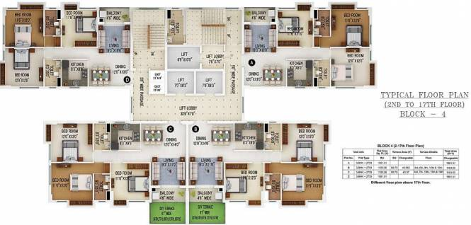 Images for Cluster Plan of Merlin 5th Avenue