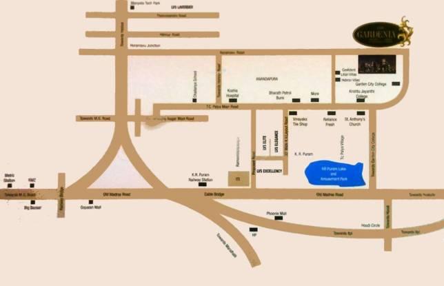 gardenia-phase-i Images for Location Plan of LVS Gardenia Phase I