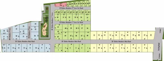 Globuse Meadows Layout Plan