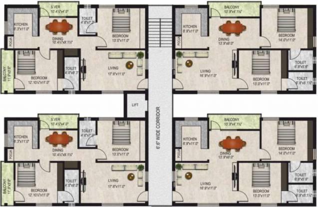 Yaganti Almond Valley Cluster Plan