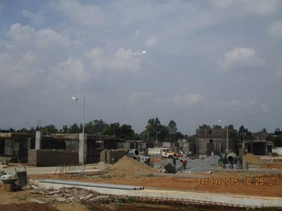 Sree Daksha Aashritha Villas Construction Status