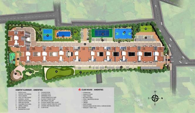 Habitat Iluminar Layout Plan