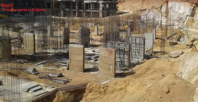 Lansum Etania Construction Status