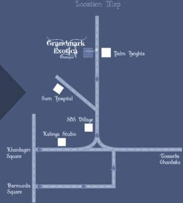 Grandmark Exotica Location Plan