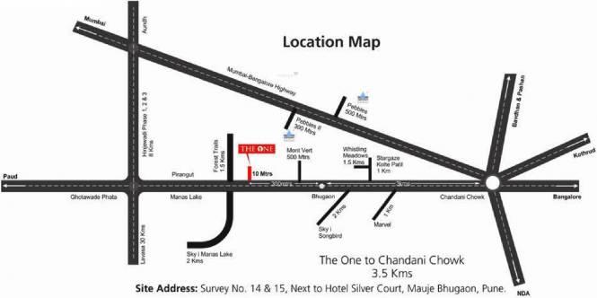 Abhinav The One Location Plan