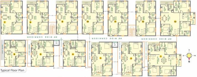 Pallavi Aashray Cluster Plan