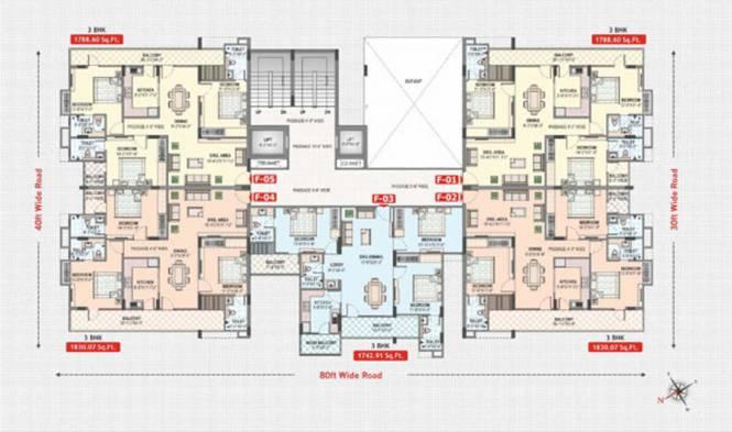 Rajul Augusta Cluster Plan