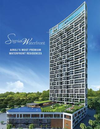Sunteck Signia Waterfront Elevation