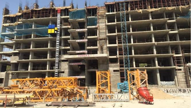 Suncity Jewel of India 1 Construction Status