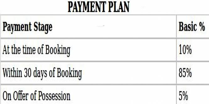 Radhey Casa Green Exotica Payment Plan