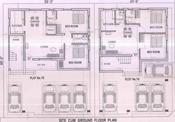 Vigneshwara Devaki Nagar Cluster Plan