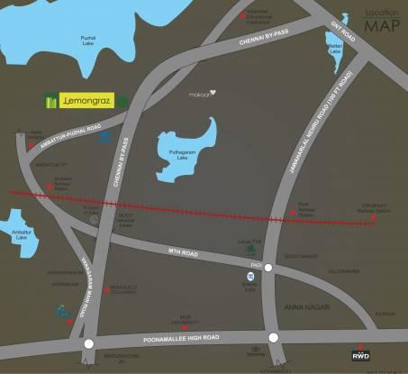 Ramky RWD Lemongraz Location Plan