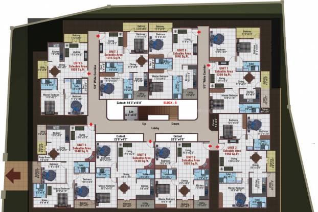 5 Elements Temple Bells Premier Cluster Plan