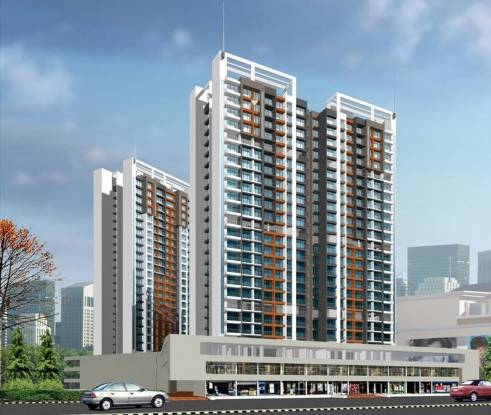 Kesar Ashish Tower Elevation