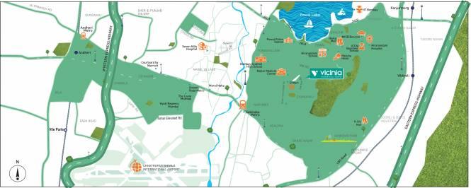 Shapoorji Pallonji Vicinia Location Plan