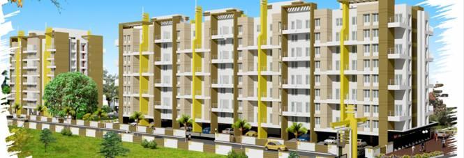 Spandan Sparsh Apartment Elevation