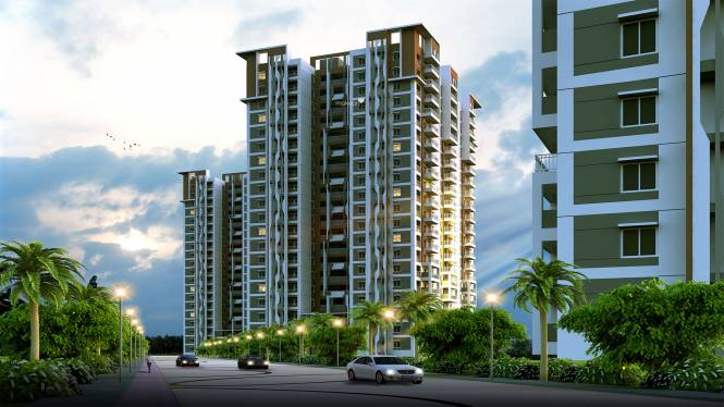 Aparna Serene Park Elevation