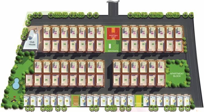 Modi Nilgiri Estate Layout Plan