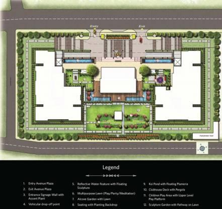 G Corp Residences Layout Plan