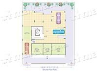 Serene Lily White Layout Plan