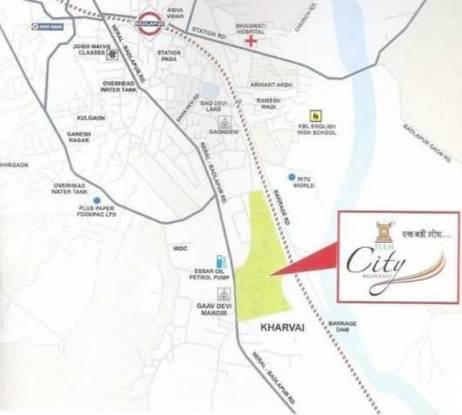 raj-tulsi-city Location Plan
