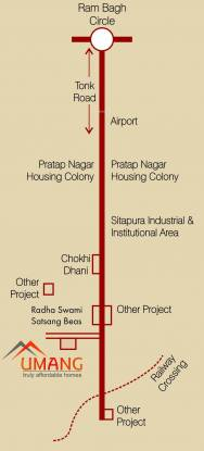 Shree Ram Umang Location Plan
