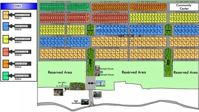 Vriddhi Fresco Fountain City Layout Plan