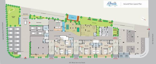 Kaival Grand Riviera Cluster Plan