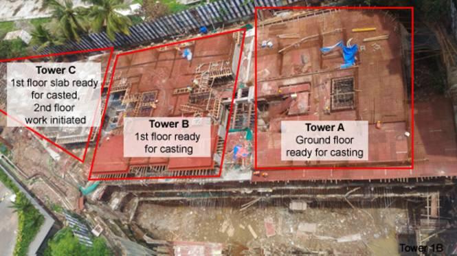 Primus Residences Construction Status