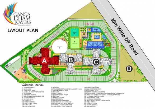 Images for Layout Plan of Goel Ganga Dham