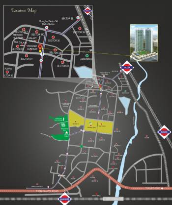 Proviso Greenwoods Location Plan