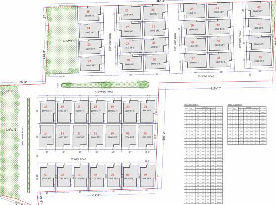 SB Kokila Cottage Layout Plan