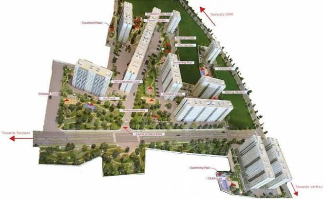 Sobha Gateway Of Dreams Elevation