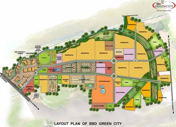 Viraj Lotus Enclave Layout Plan