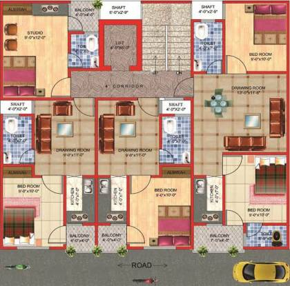 Arsh Eco Homes Cluster Plan