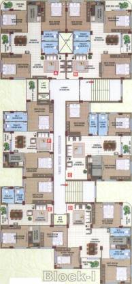 Orchid Gangour Residency Cluster Plan