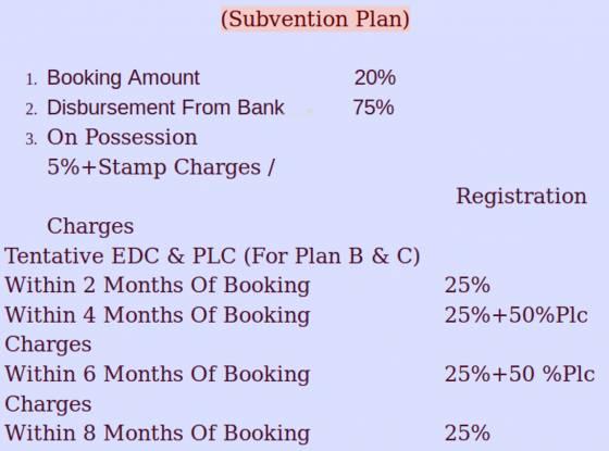 Balaji Royale City Apartment Payment Plan
