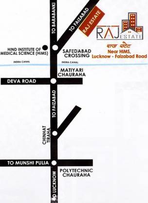Shree Raj Raj Estate Location Plan