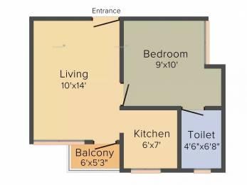 509 sqft, 1 bhk Apartment in Artha Midas at Neo Smart City Hoskote, Bangalore at Rs. 19.0000 Lacs
