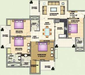 2292 sqft, 4 bhk Apartment in Mona Greens VIP Rd, Zirakpur at Rs. 21000