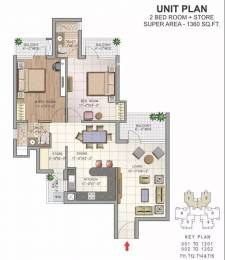 1360 sqft, 2 bhk Apartment in NK Savitry Greens VIP Rd, Zirakpur at Rs. 13000