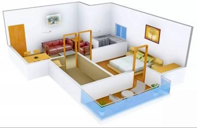 600 sqft, 1 bhk Apartment in Avj Heightss Zeta, Greater Noida at Rs. 5000