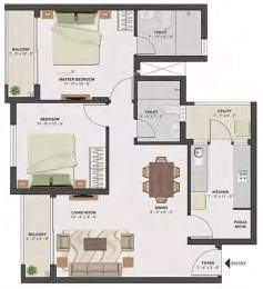 1008 sqft, 2 bhk Apartment in TATA Santorini Mevalurkuppam, Chennai at Rs. 49.0000 Lacs