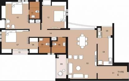 2079 sqft, 3 bhk Apartment in Ambuja Upohar Garia, Kolkata at Rs. 40000