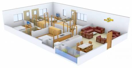 2620 sqft, 4 bhk Apartment in Ruchi Active Acres Tangra, Kolkata at Rs. 1.5000 Cr