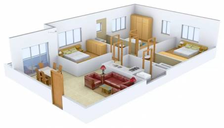 1727 sqft, 3 bhk Apartment in Ruchi Active Acres Tangra, Kolkata at Rs. 1.2500 Cr