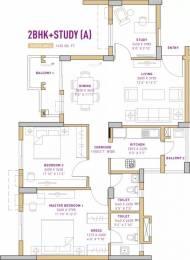 1430 sqft, 2 bhk Apartment in Vatika The Seven Lamps Sector 82, Gurgaon at Rs. 75.0000 Lacs