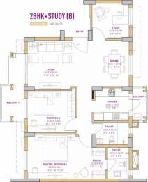 1435 sqft, 2 bhk Apartment in Vatika The Seven Lamps Sector 82, Gurgaon at Rs. 77.0000 Lacs