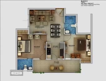 1096 sqft, 2 bhk Apartment in Builder Project Rajpur Road, Dehradun at Rs. 44.0000 Lacs